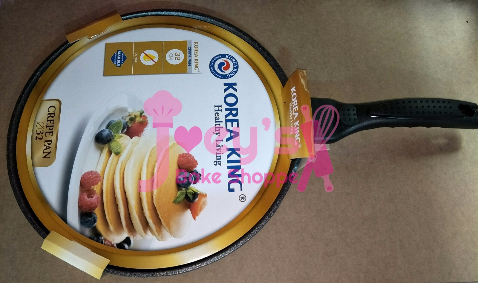 Korea King 32cm Non Stick Marble Crepe Pan